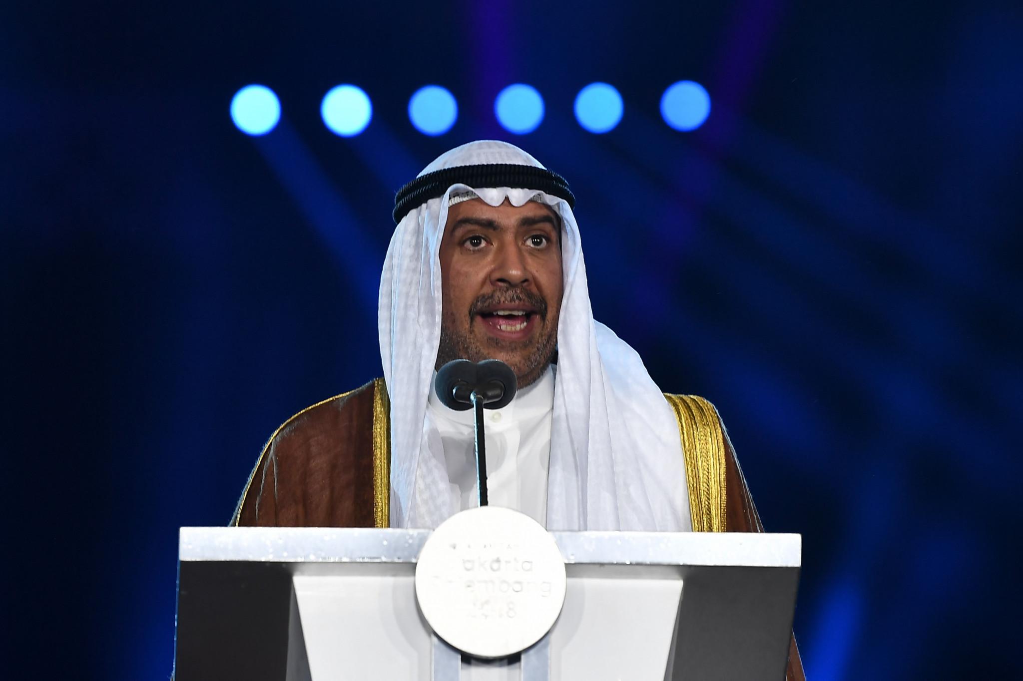Sheikh Ahmad Al-Fahad Al-Sabah has been President of the OCA since 1991 ©Getty Images