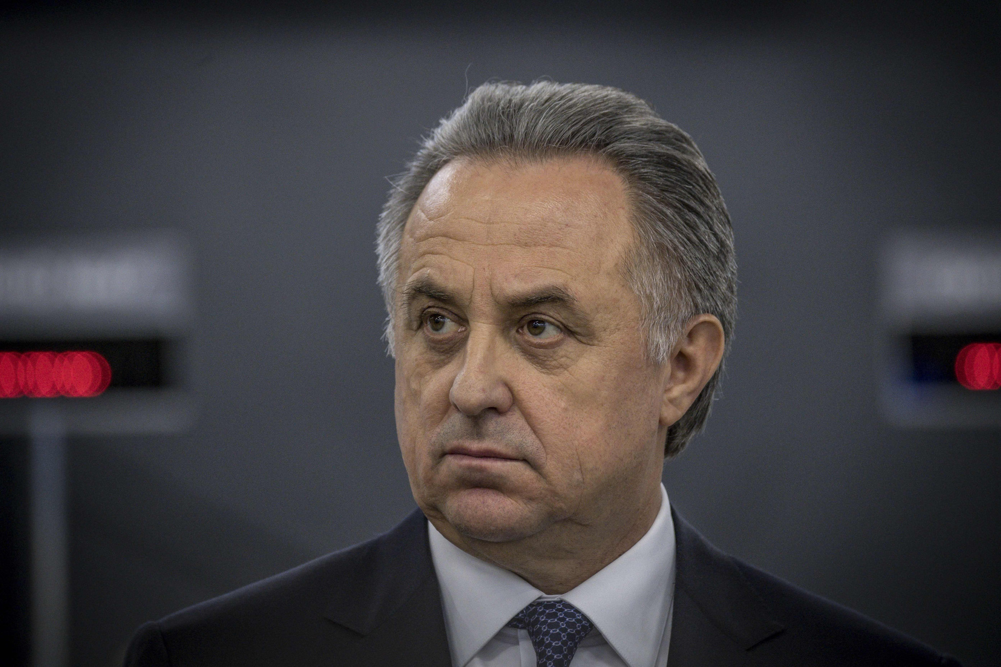 Russia's Deputy Prime Minister Vitaly Mutko has left his role as President of the Russian Football Union ©Getty Images