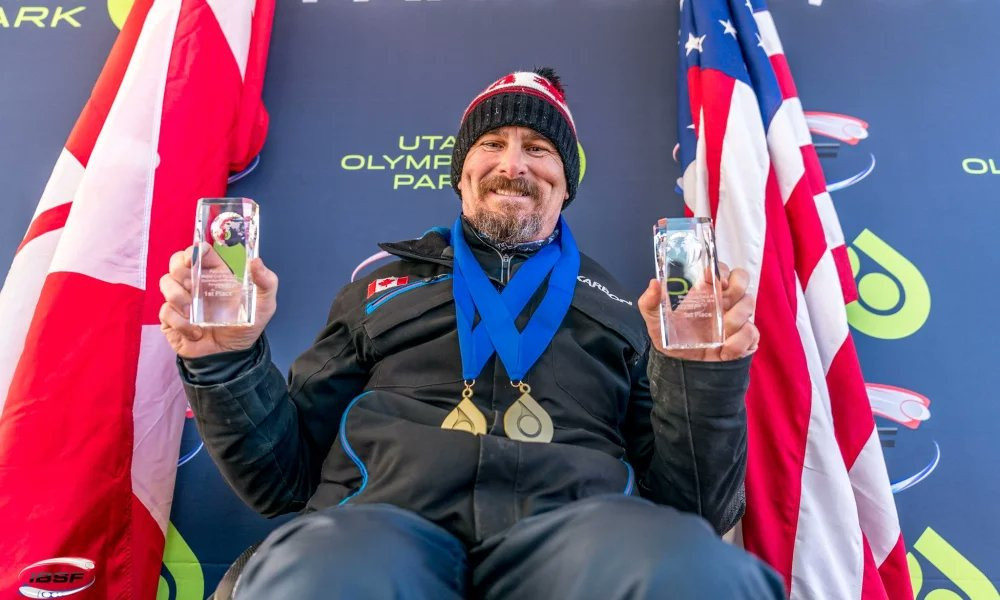 Para-bobsleigh legend Lonnie Bissonnette is one of many athletes to back the sport's inclusion at Milan Cortina 2026 ©IBSF