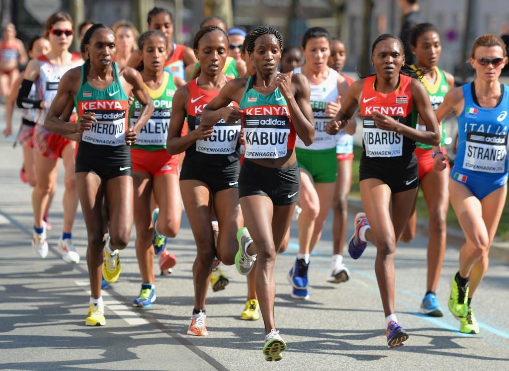 Copenhagen hosted the World Half Marathon Championships in 2014 ©Getty Images