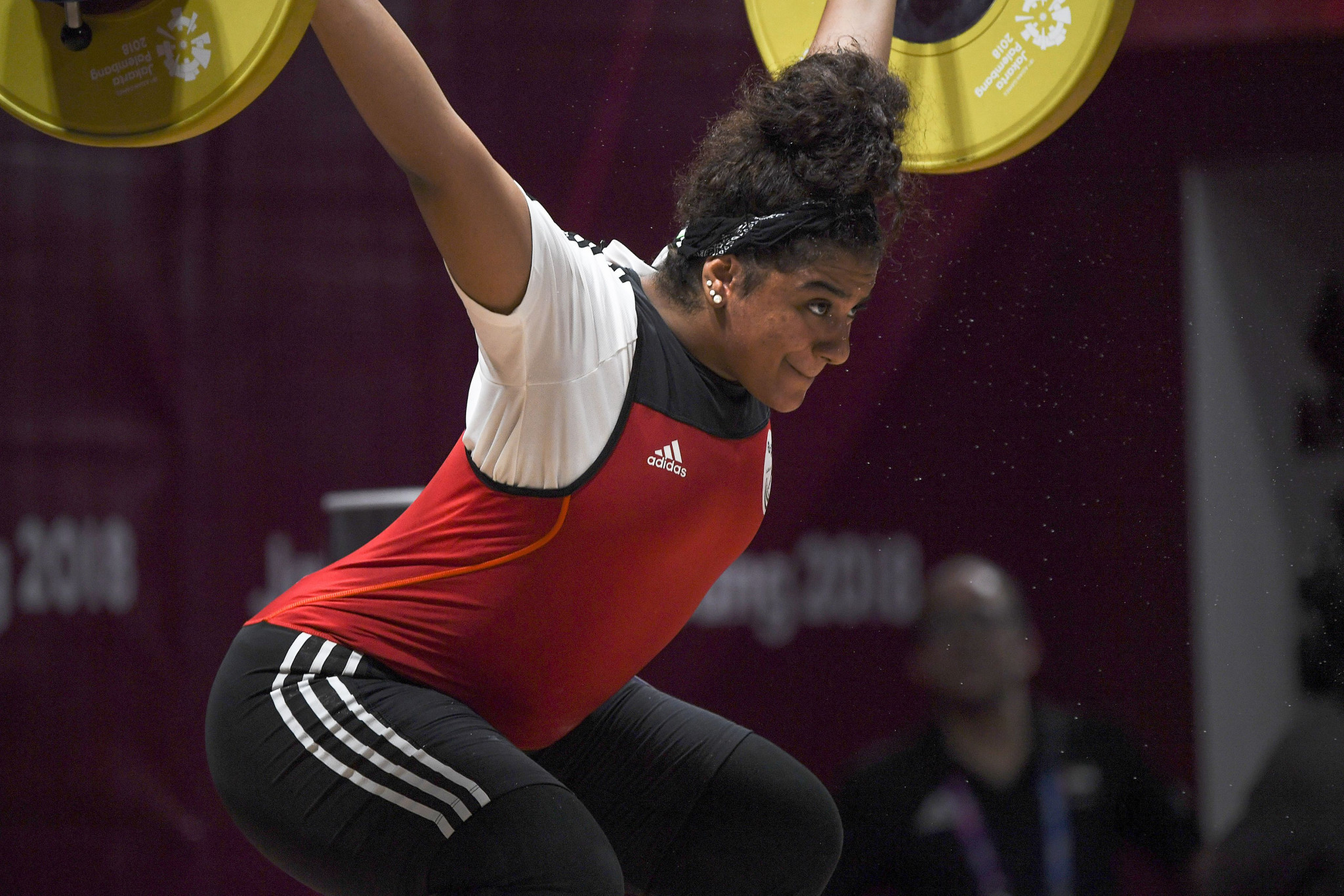 The snatch is the first part of a weightlifting event ©Getty Images