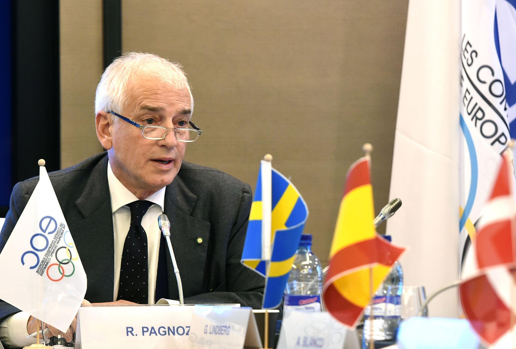 EOC secretary general Pagnozzi receives top honour in Italian sport
