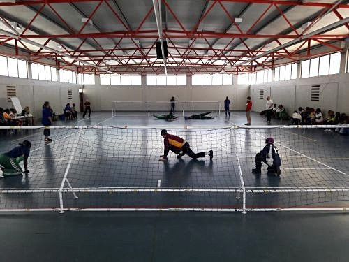 A similar workshop was held in South Africa last month, becoming the fourth goalball event to take place in Africa ©IBSA