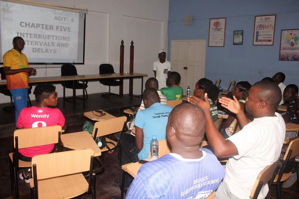 World ParaVolley successfully hosted four courses in the Mozambique capital of Maputo ©World ParaVolley