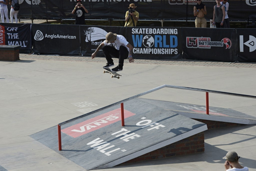 Last week's WSF-organised Skateboarding World Championships in Kimberley has been seen as another way to widen the scope of the sport ©WSF