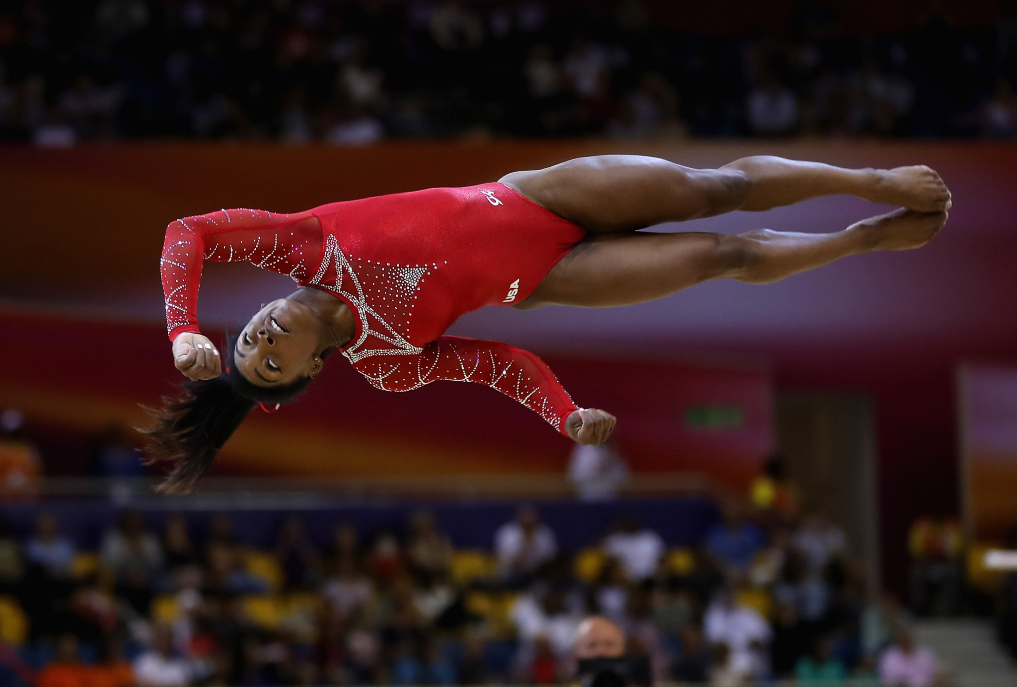 Simone Biles is one of several gymnasts to have had an increasingly important voice in governance of gymnastics in the United States and are shaping its future ©Getty Images