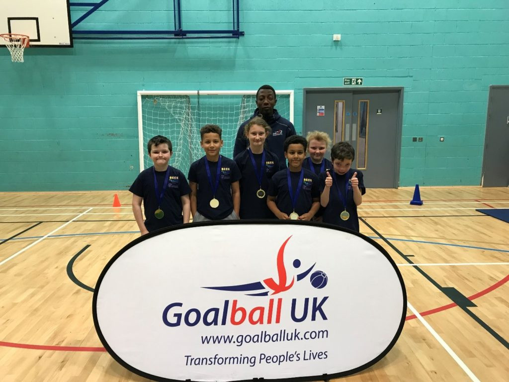 First Goalball UK school competition successfully held in Sheffield