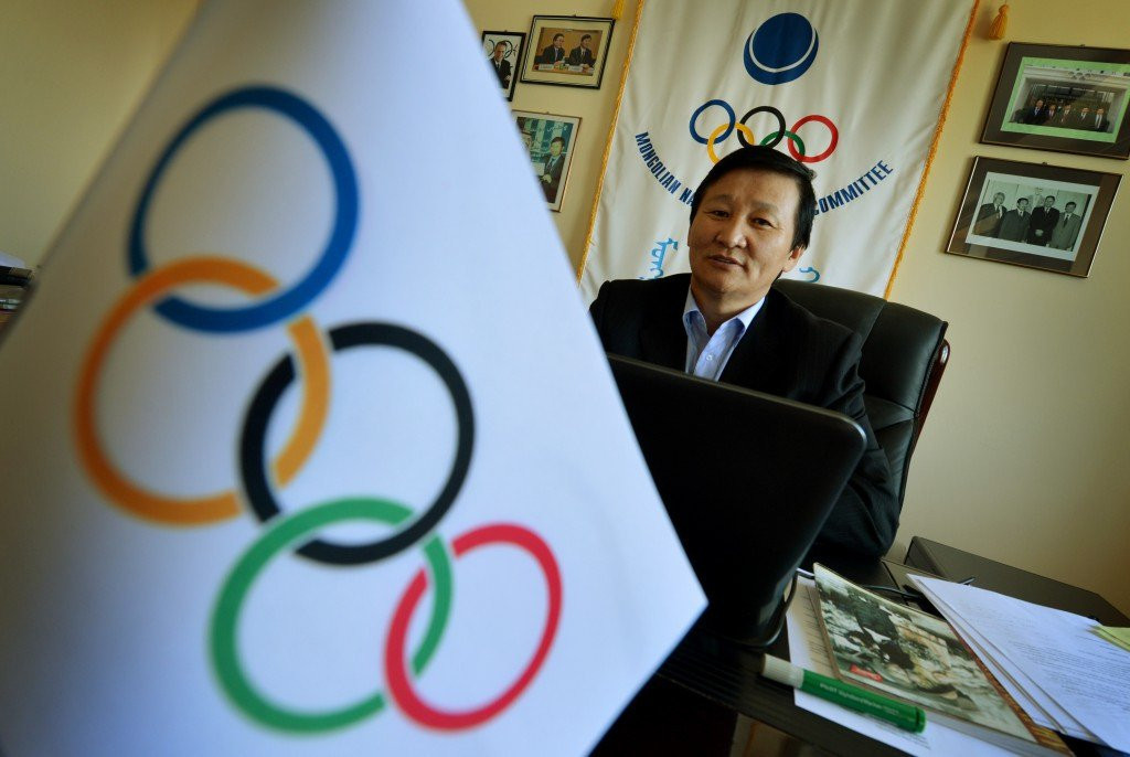 IOC Ethics Commission asked to investigate Mongolian Olympic Committee President Demchigjav