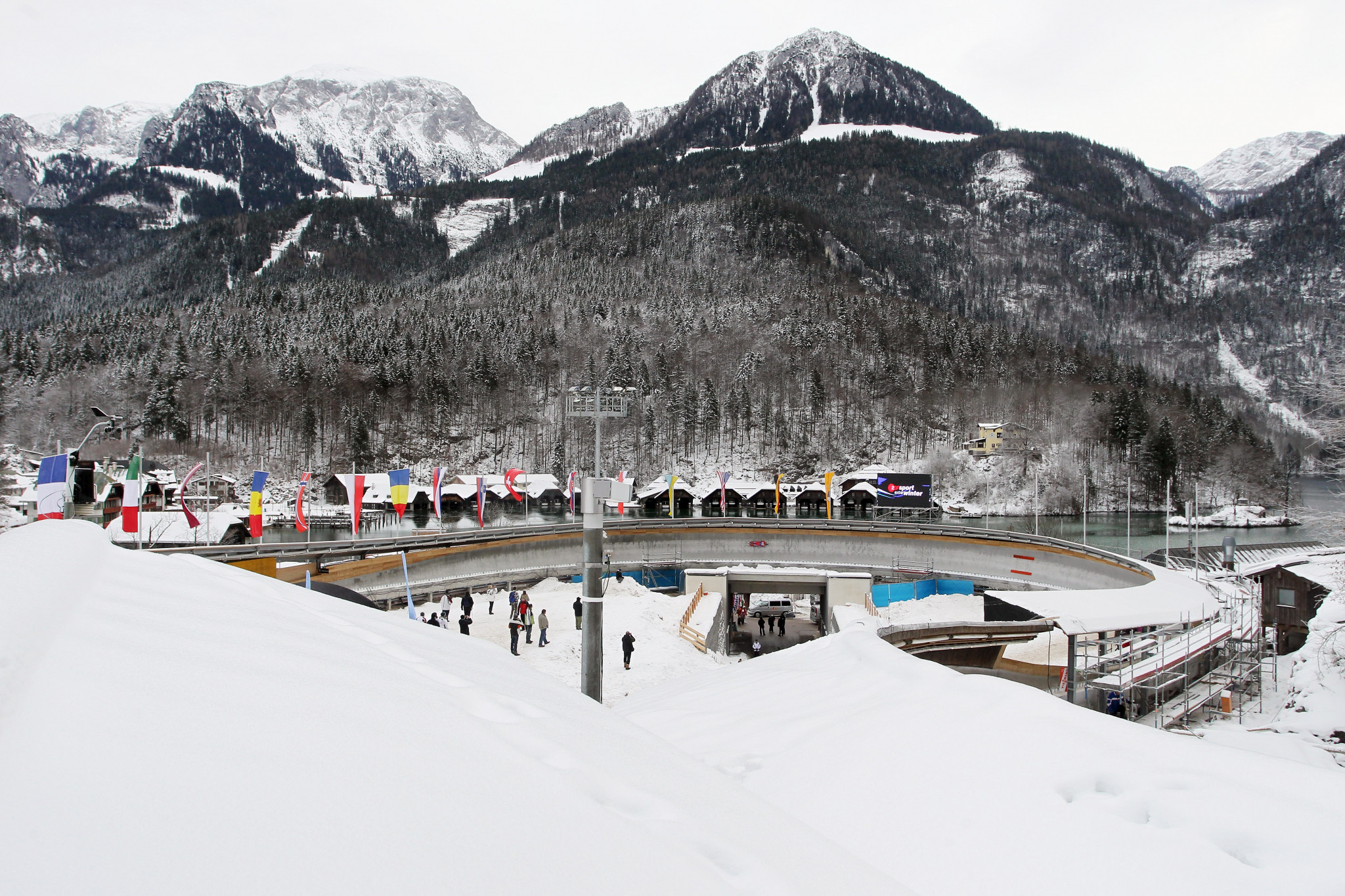 Königssee track celebrates 50th anniversary by hosting FIL Luge World Cup event