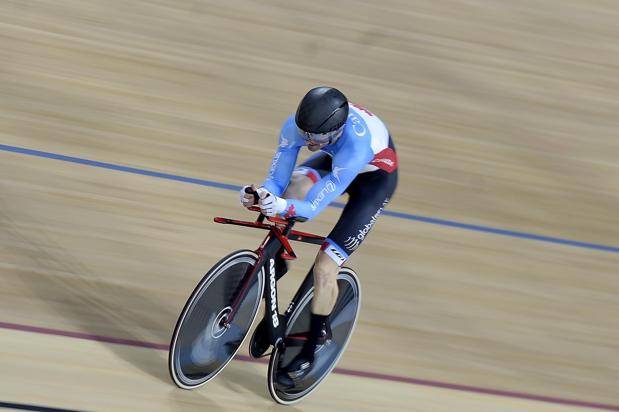Tristen Chernove has been named the 2018 Canadian Para Cyclist of the Year by the news website Canadian Cyclist ©Getty Images