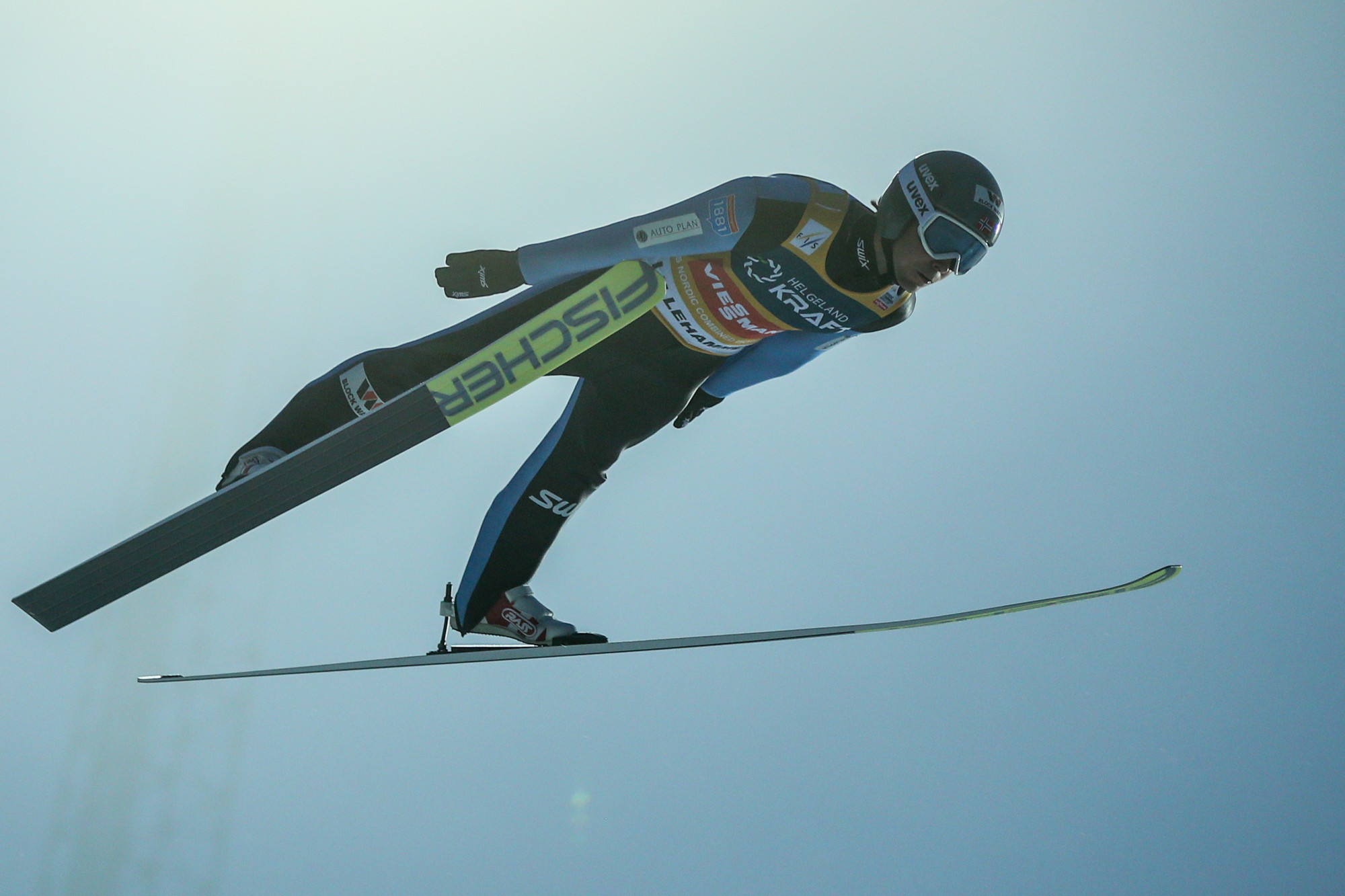 Jarl Riiber clinched a fifth World Cup win in six events ©Getty Images
