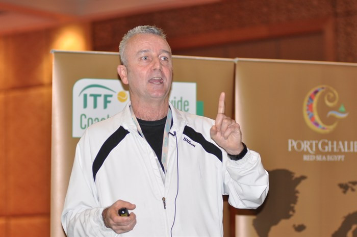 Ireland's Dave Miley has announced he will stand for ITF Presidency ©Tennis iCoach