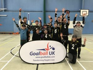 Goalball UK will hold an event in Oxted on January 26 ©Goalball UK