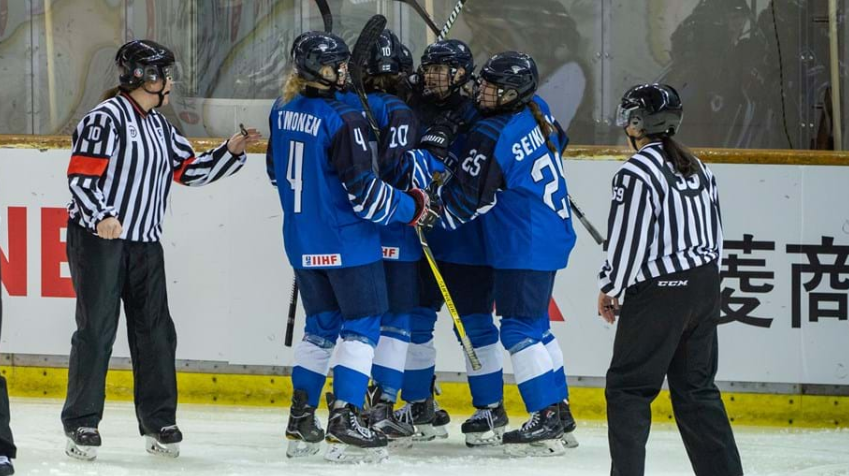 Finland defeated Switzerland to qualify for the quarter-final of the IIHF Under-18 Women's World Championship ©Robert Hradil/HHOF-IIHF