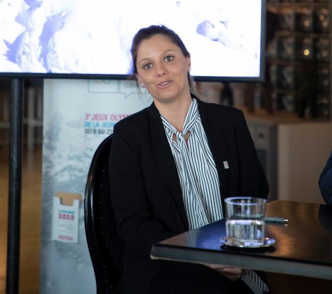 Virginie Faivre has vowed to ensure Lausanne 2020 honour Patrick Baumann with a great event ©IOC
