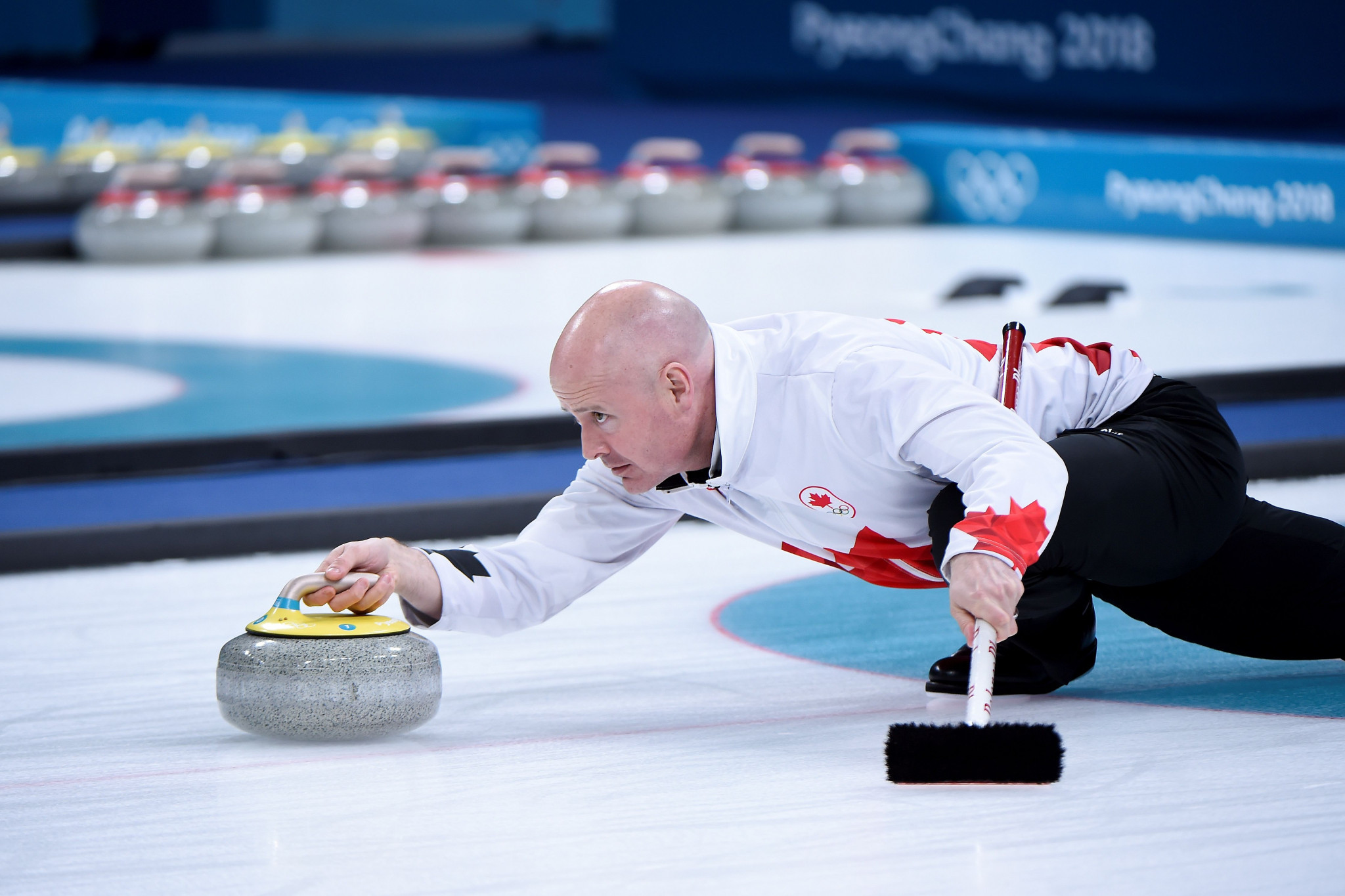 Canada's Kevin Koe will skip a team for North America at the Continental Cup of Curling ©Getty Images