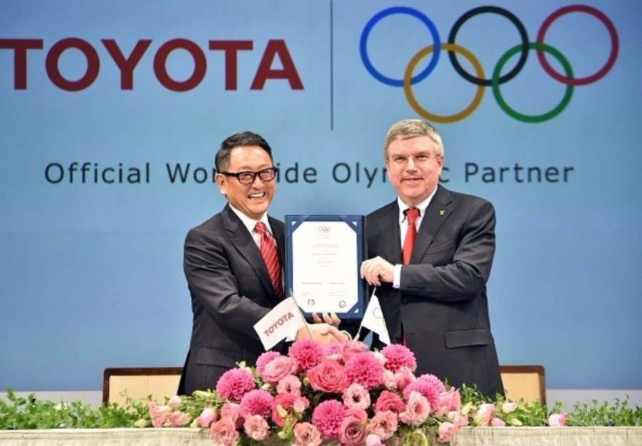 Toyota became the 12th and newest member of the TOP programme in March ©Getty Images