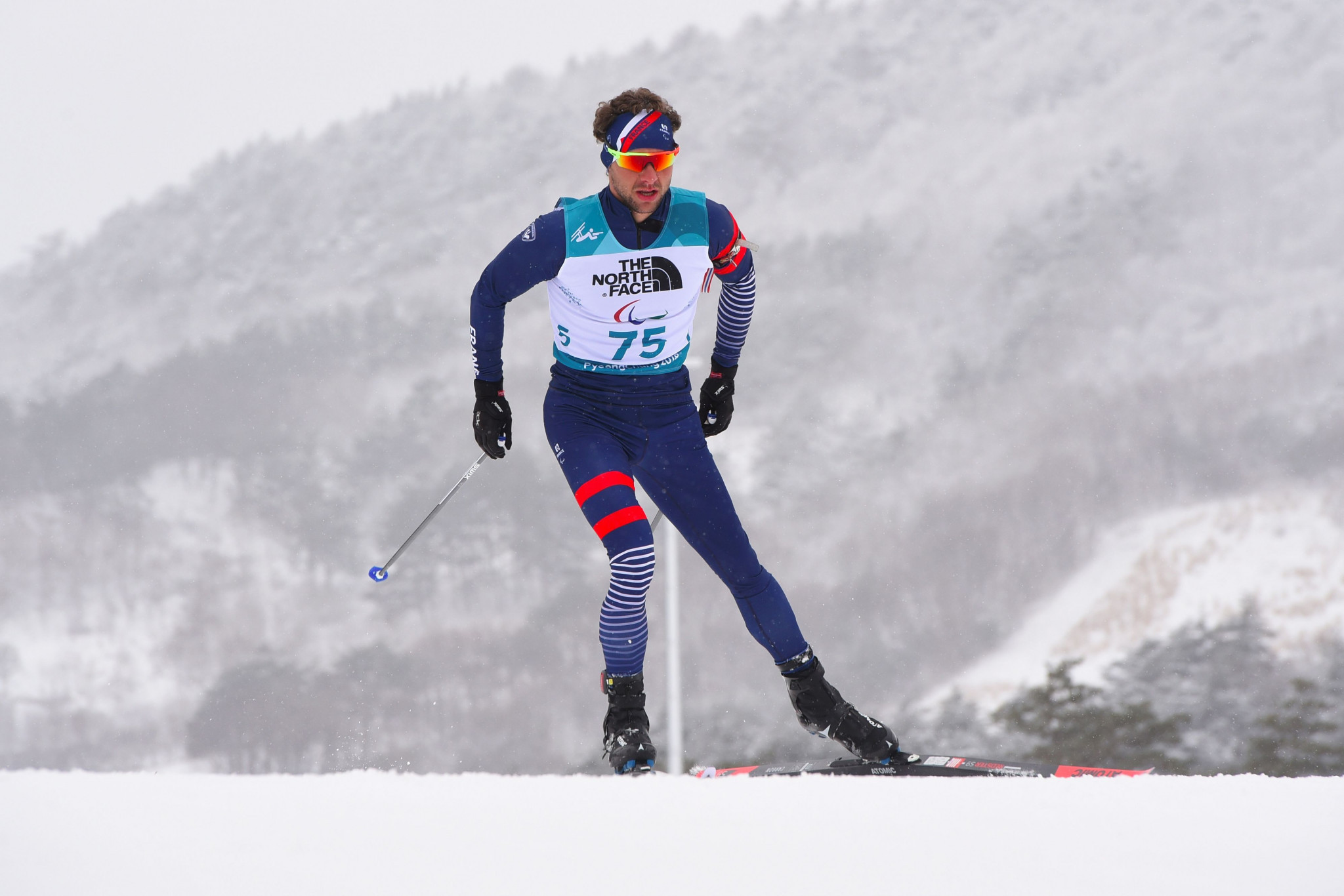 Paralympic champion Benjamin Daviet of France won his third gold medal of the World Para Nordic Skiing World Cup in Östersund ©Getty Images