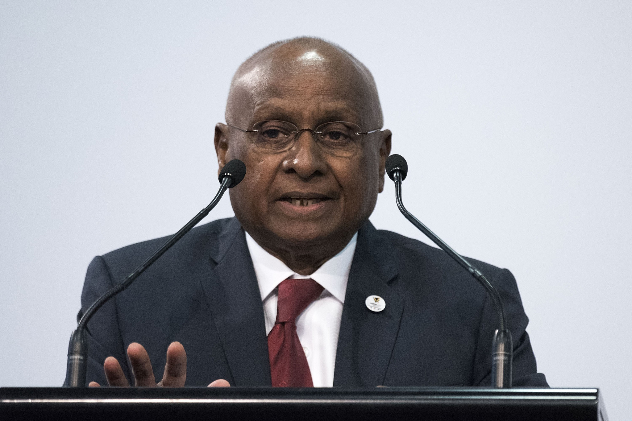 Sam Ramsamy ceased to be an IOC member at the end of 2018 after reaching the age limit ©Getty Images
