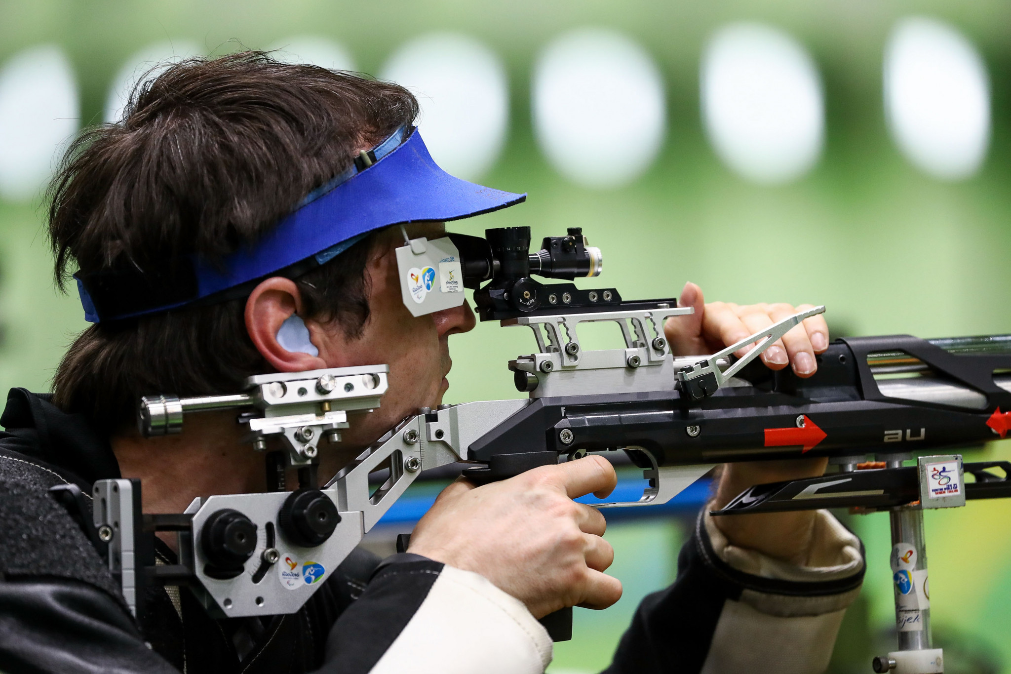 Preparations for the 2020 Olympic Games in Tokyo and the 2024 Olympic Games in Paris were discussed between ISSF President Vladimir Lisin and the IOC's Kit McConnell and David Luckes ©Getty Images