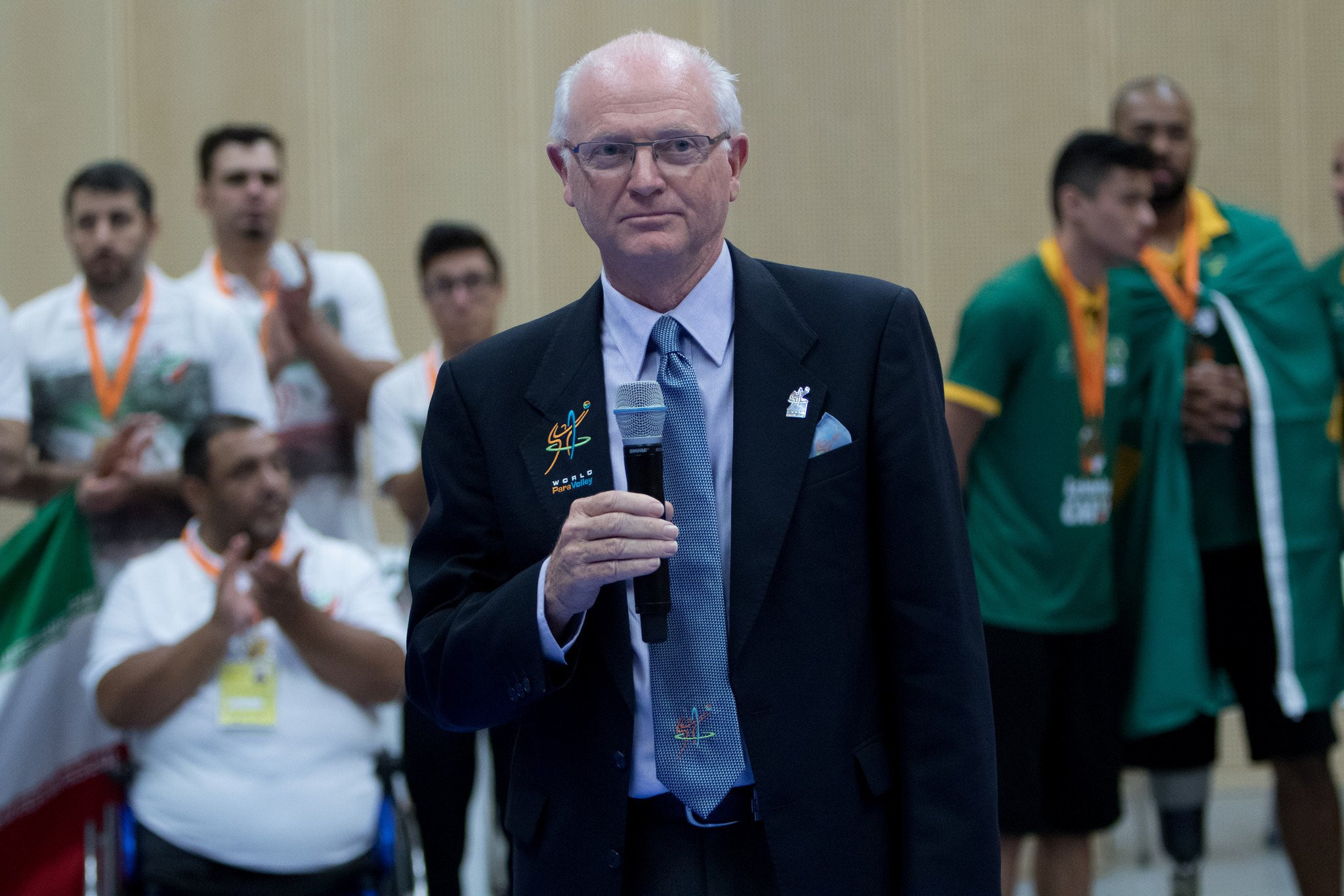 World ParaVolley President Barry Couzner said last year that momentum is building for a bid to include beach volleyball at the Los Angeles 2028 Paralympic Games ©World Para Volley