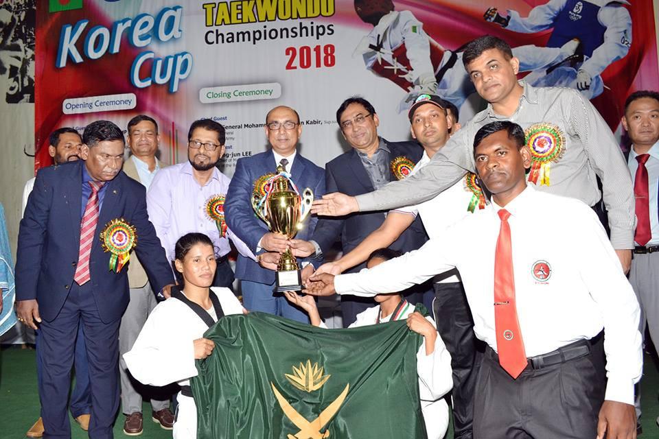 The Korean Ambassador Cup Taekwondo Championship was held in Bangladesh in  November ©BTF