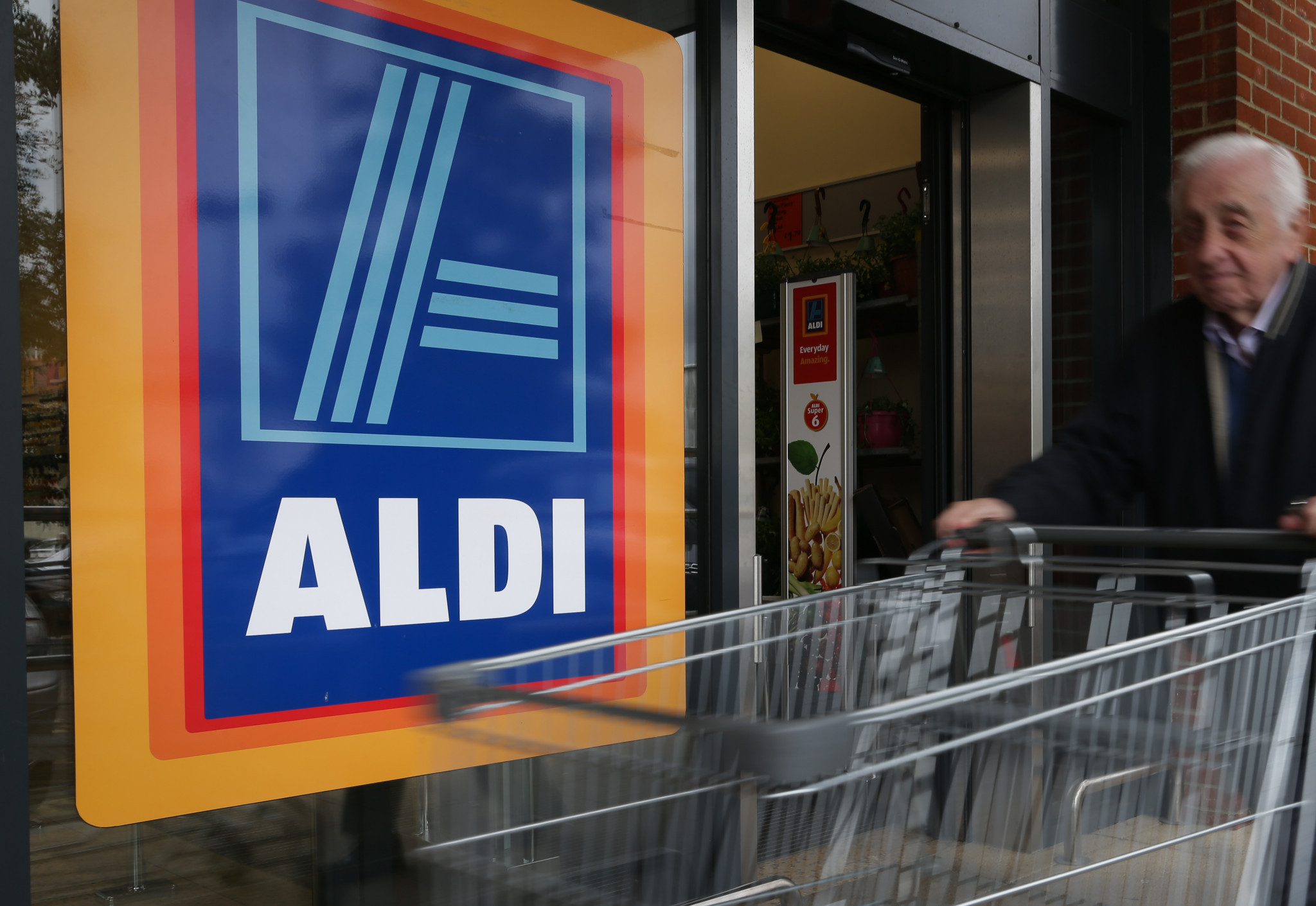 The British Olympic Association has extended its partnership with supermarket chain Aldi until 2025 ©Getty Images