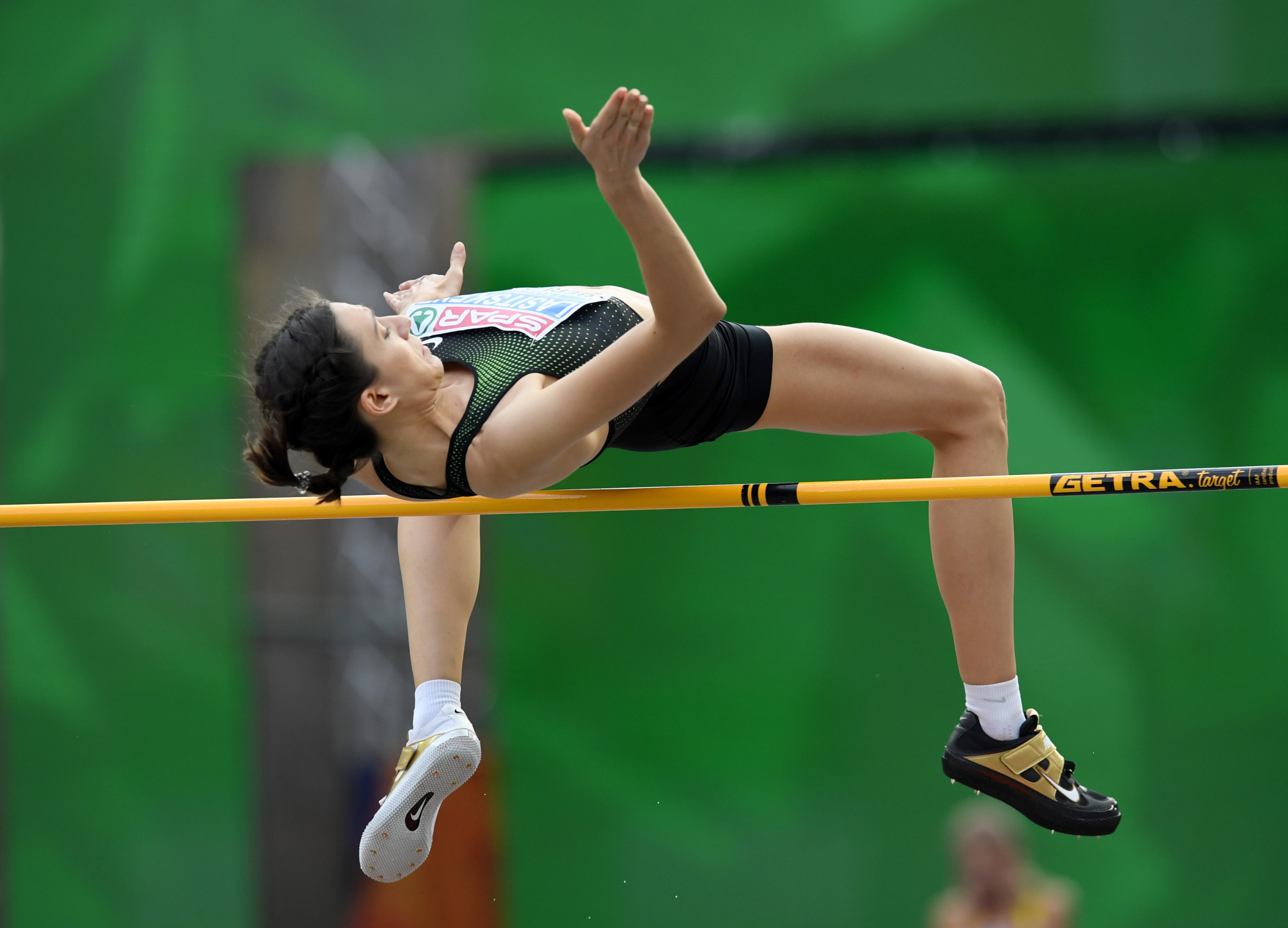 Russians, like high jumper Mariya Lasitskene, have been allowed by the IAAF to compete as Authorised Neutral Athletes while their national governing body is suspended ©Getty Images