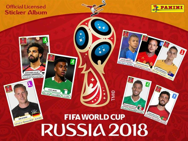 The success of its sticker album for last year's FIFA World Cup in Russia has helped lift Panini to record revenues ©Panini