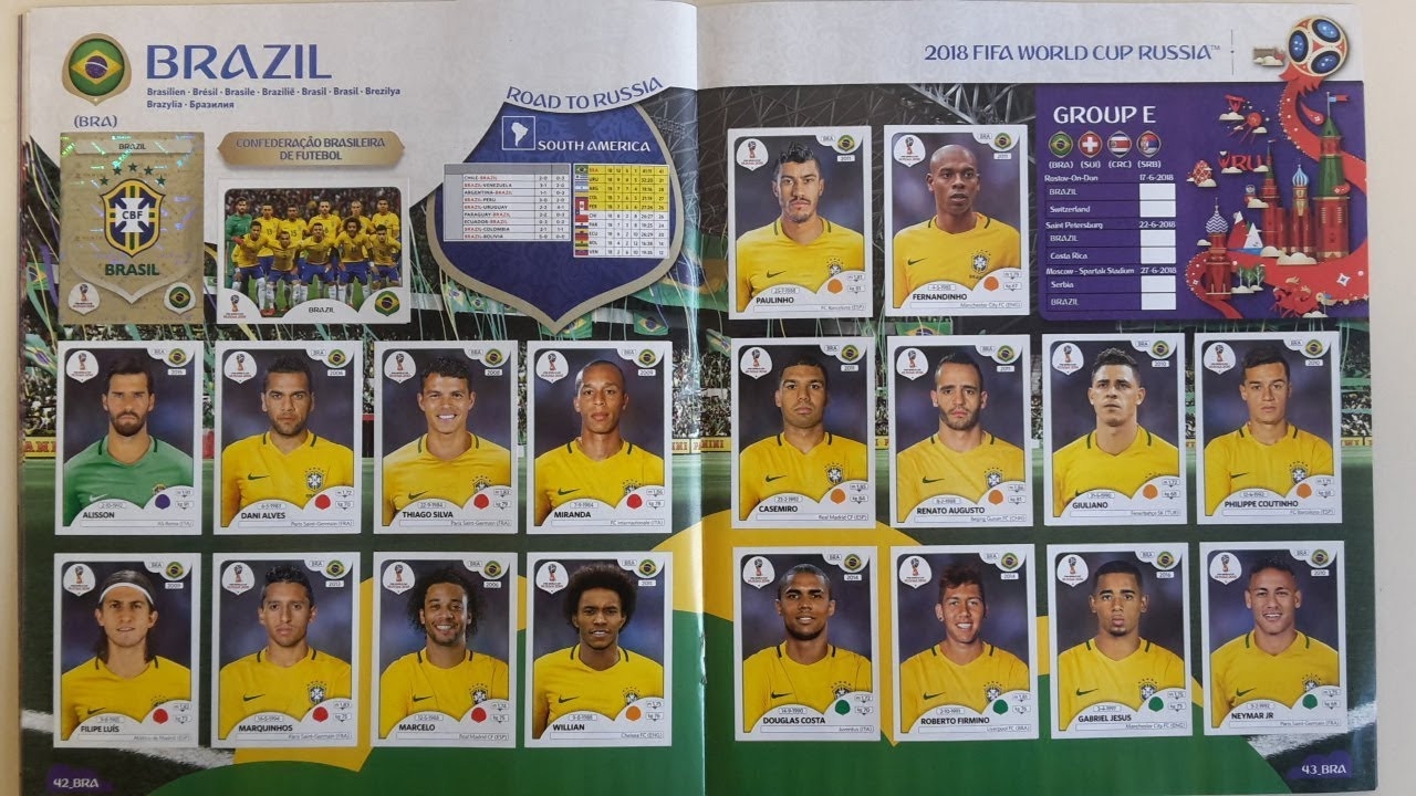 A UK collector would have needed to spend nearly £800 to fully complete a Panini Russia 2018 sticker album ©Panini