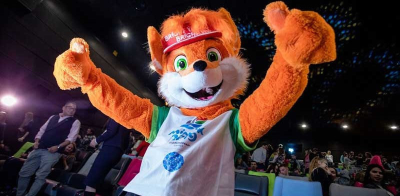 A two-metre ice sculpture of Lesik the fox will be unveiled in Minsk ©Minsk 2019