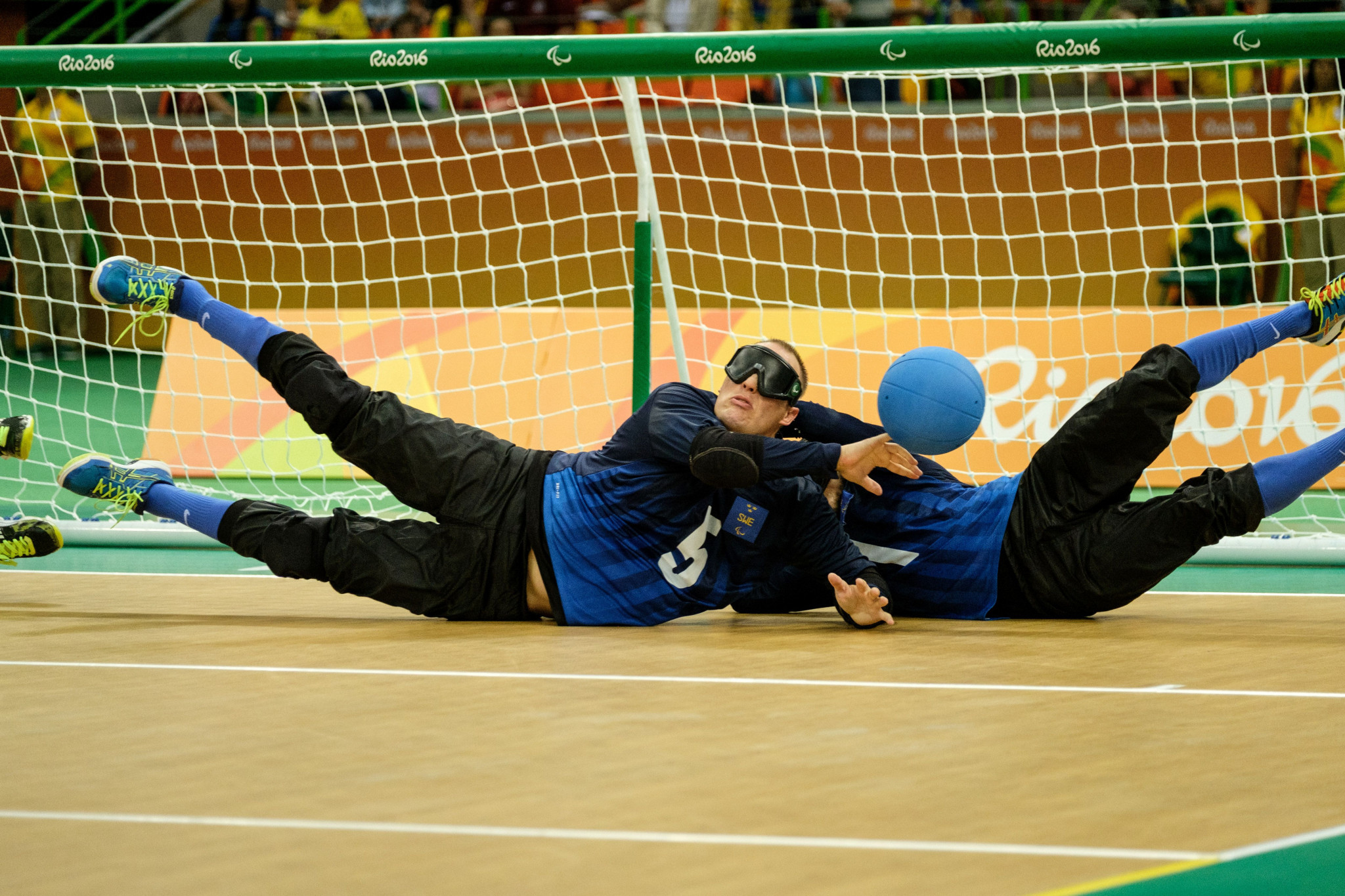 Goalball retained its place along with blind football and judo ©Getty Images
