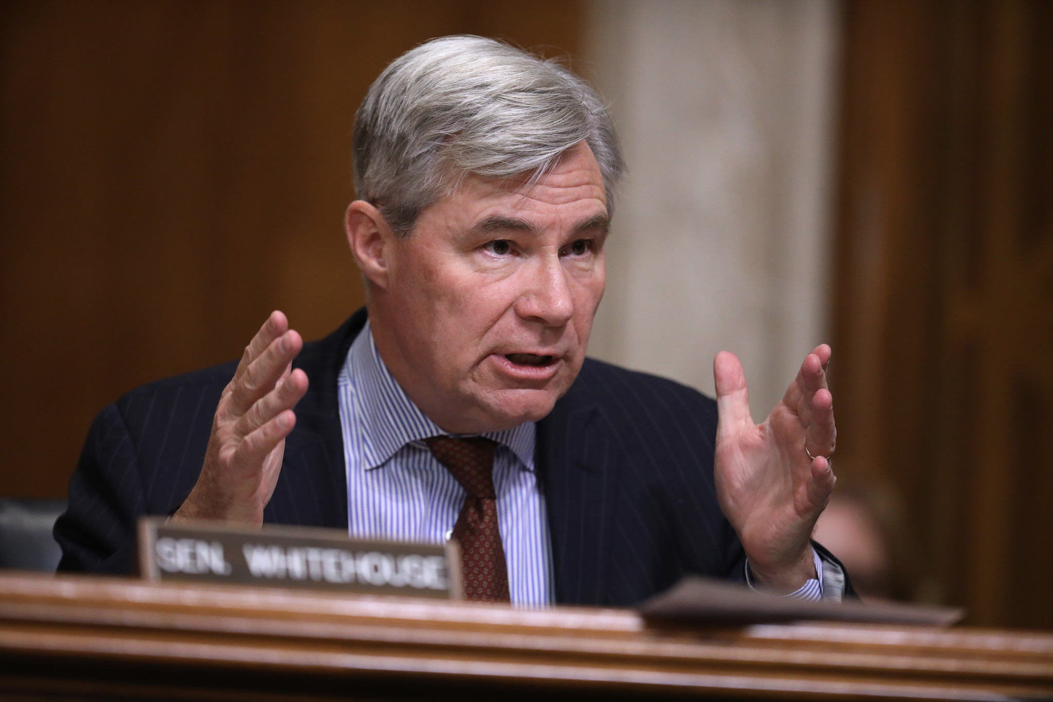Senator Sheldon Whitehouse helped introduce the Rodchenkov Act ©Getty Images