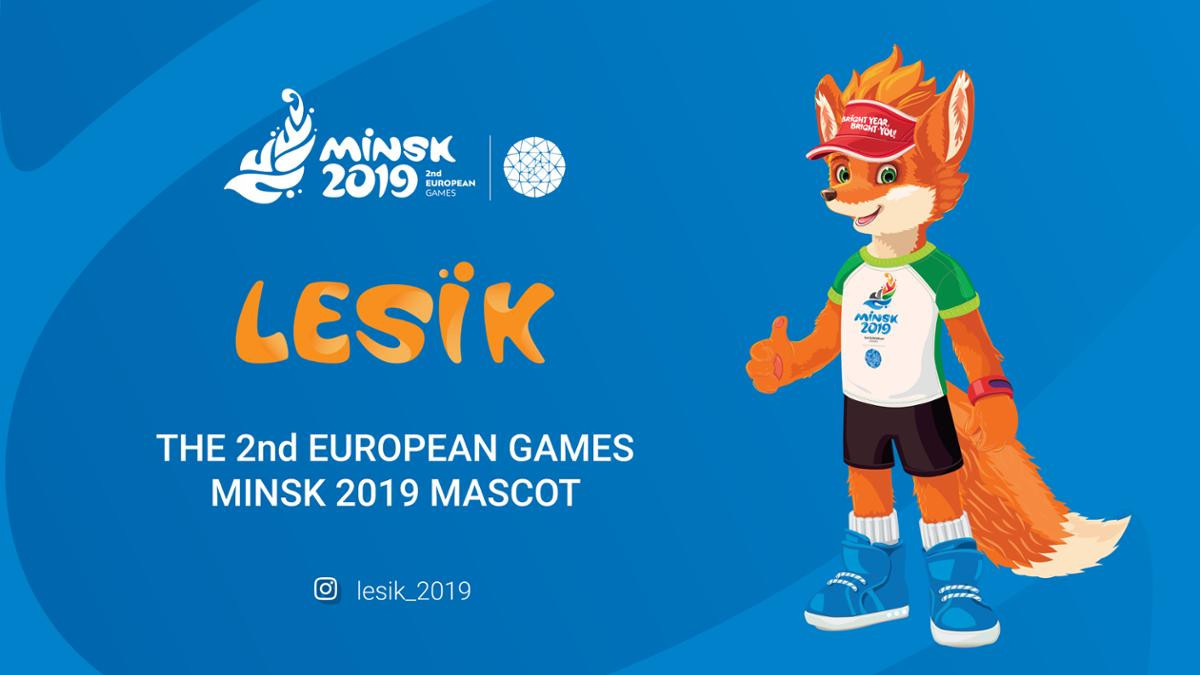 Lesik has his own dedicated Instagram page ©Minsk 2019