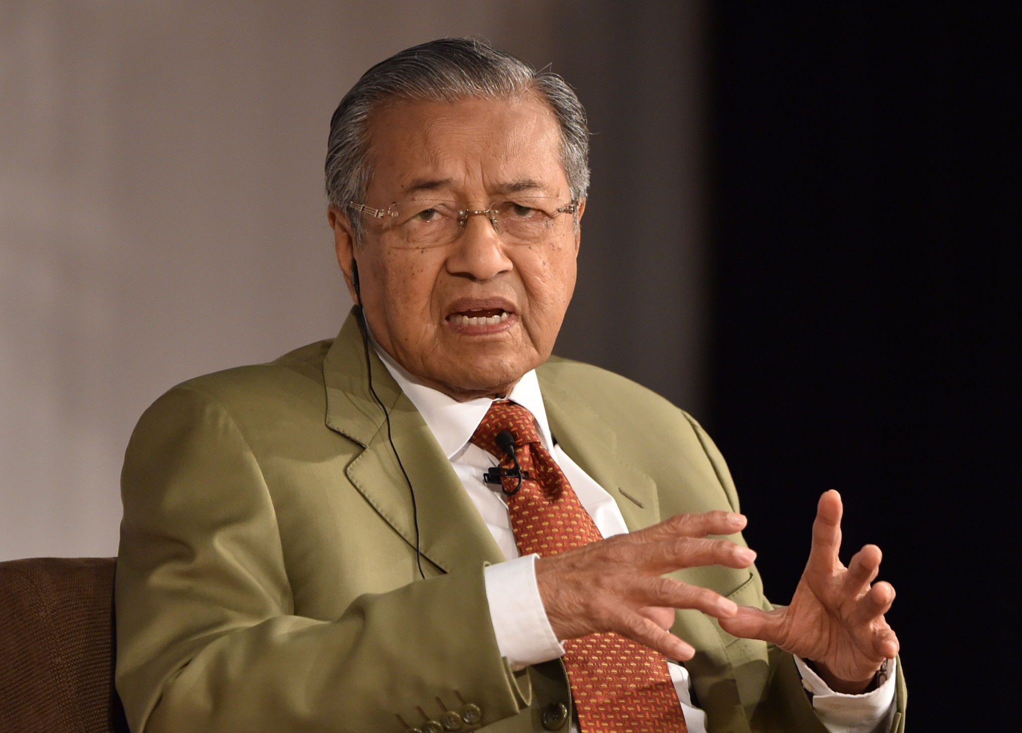 Malaysian Prime Minister Mahathir bin Mohamad has refused to back down on the Government's stance on Israel ©Getty Images