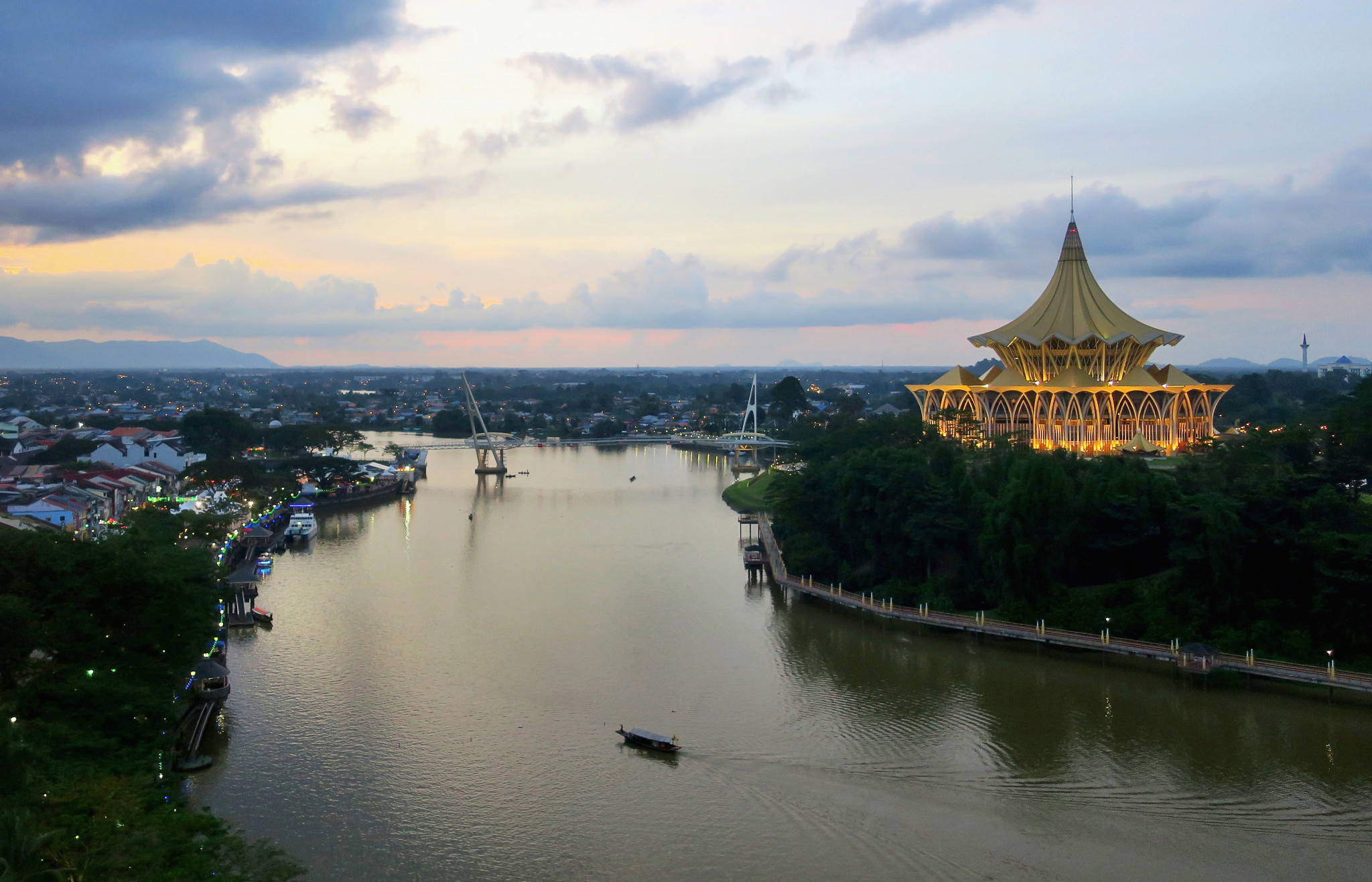 Kuching was due to host the World Para Swimming Championships later this year ©Getty Images