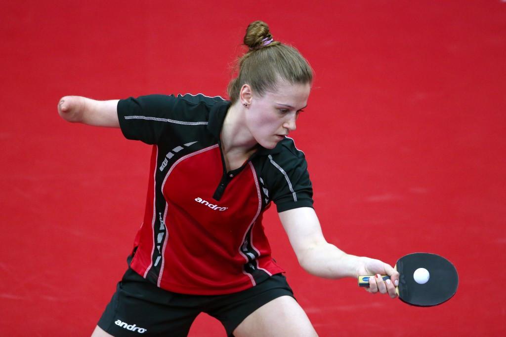 Poland's Partyka and Pek reach semi-finals at Para-Table Tennis European Championships