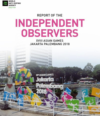 WADA report praises system at Jakarta Palembang 2018 but concerns raised about doping control stations