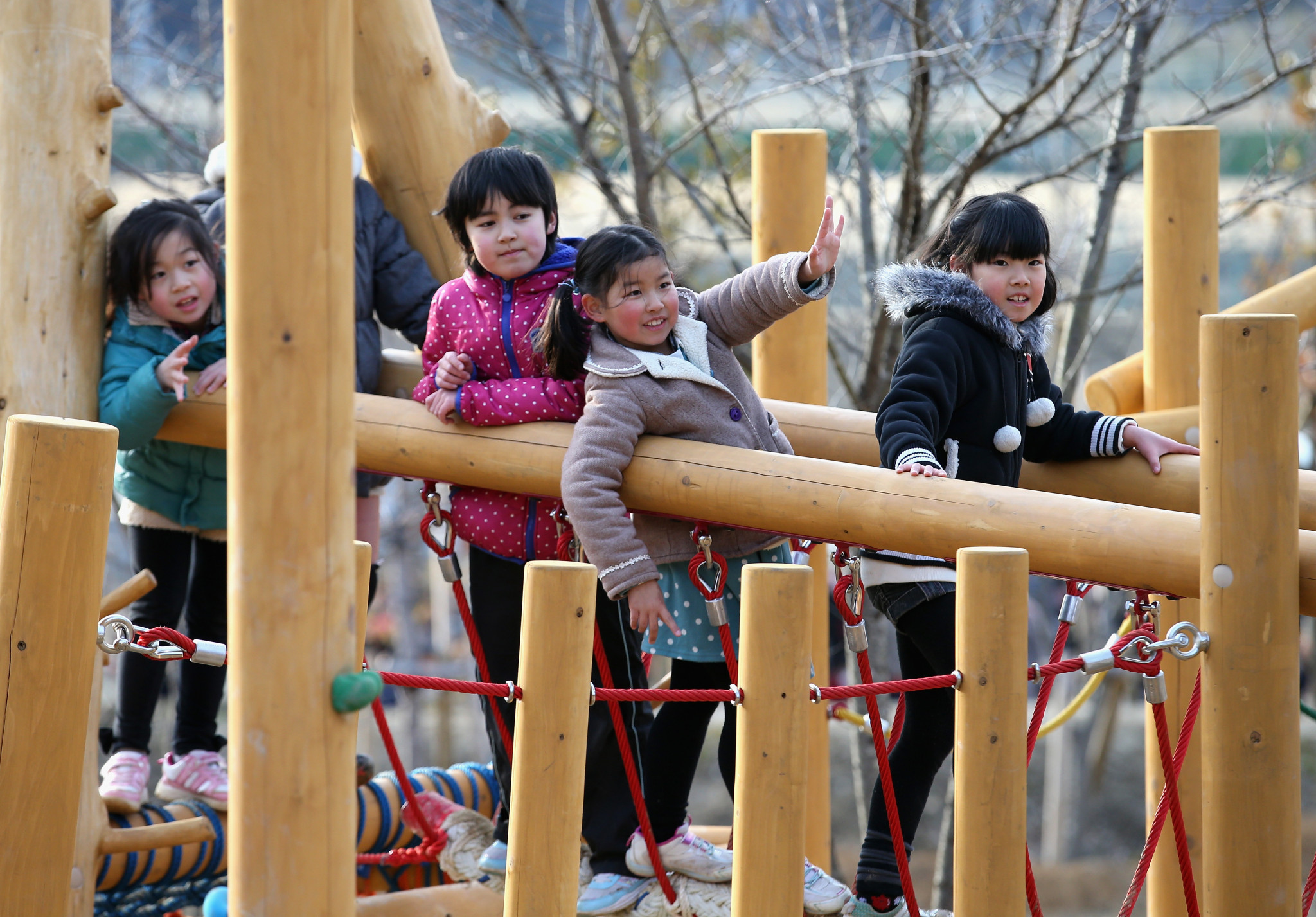 Children from Fukushima, one of the areas hit by the earthquake and tsunami in 2011, are to be invited to next year's Olympic Games by the Tokyo Metropolitan Government ©Getty Images