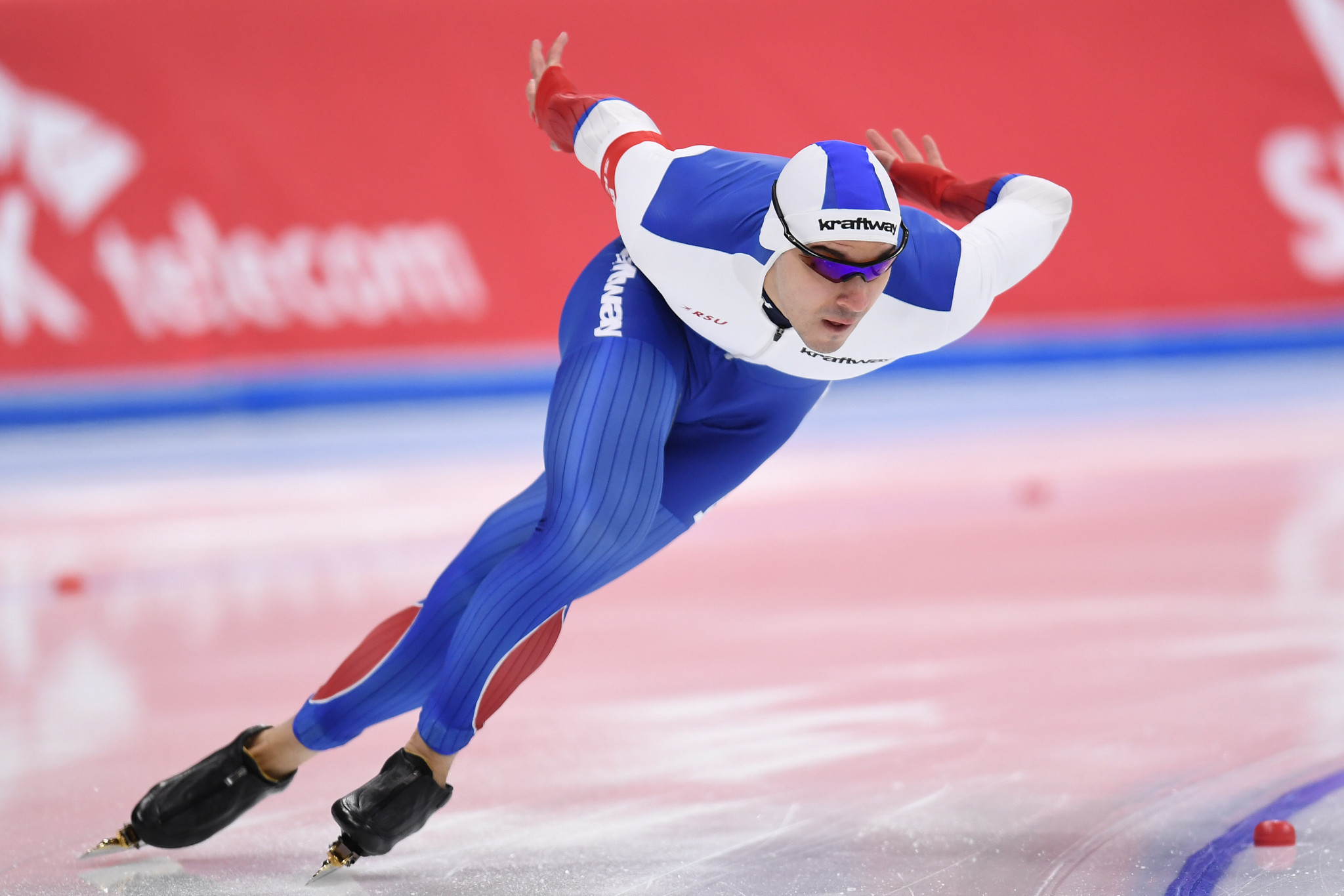 Ruslan Murashov won the men's 500m title on day two ©Getty Images