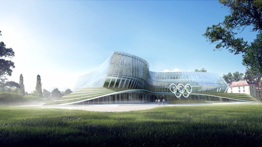 The International Olympic Committee have announced that they will inaugurate their new headquarters in Lausanne on this year's Olympic Day ©IOC