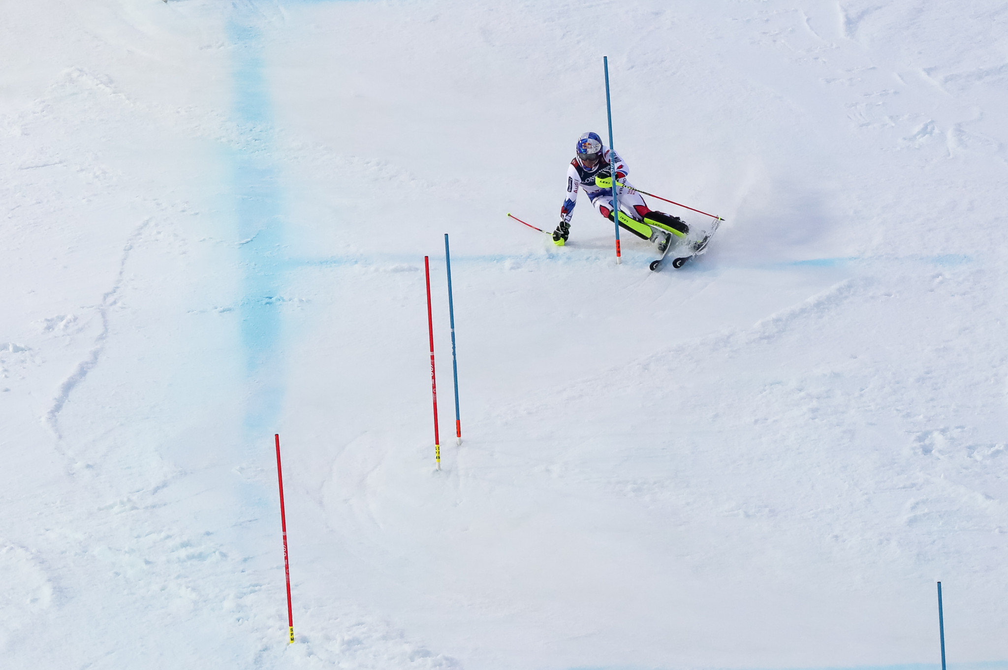 Alexis Pinturault secured gold in the men's Alpine combined event ©Getty Images