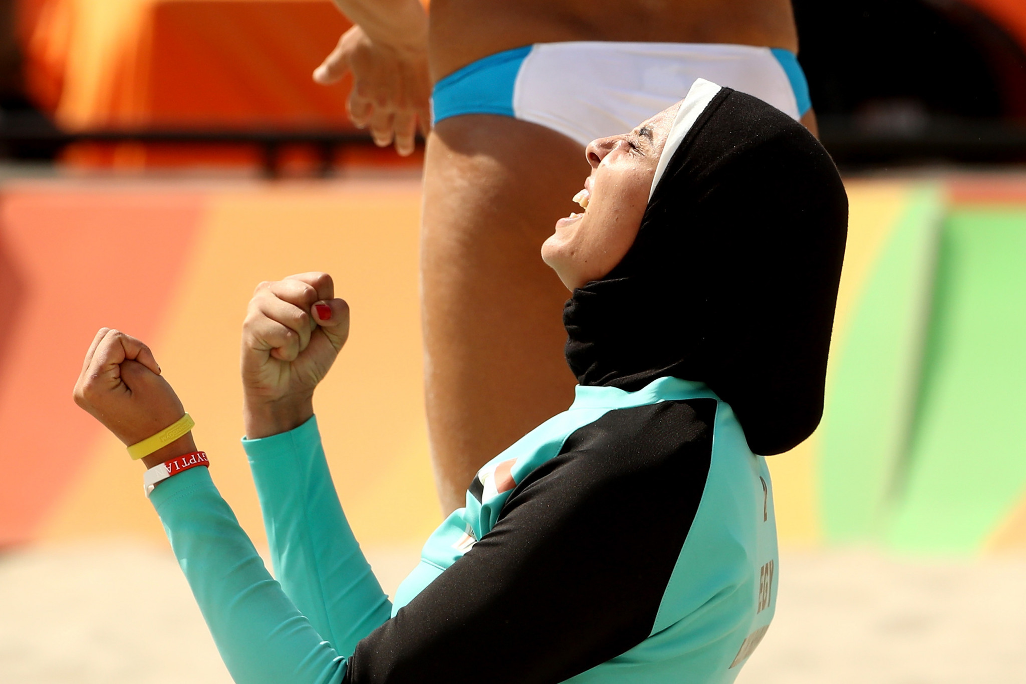 Female boxers will now be permitted to wear sport hijabs at major AIBA events ©Getty Images