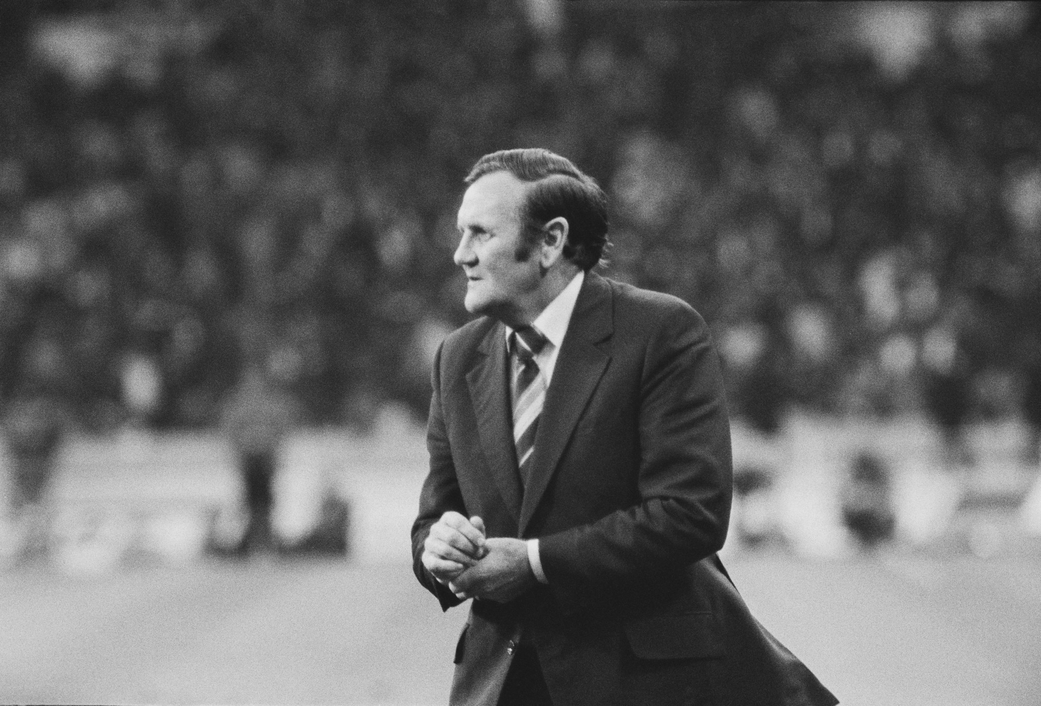 Football manager Don Revie is among those to have suffered from Motor Neurone Disease ©Getty Images