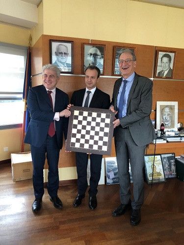 FIDE has become the latest governing body to officially launch its bid for Paris 2024 inclusion ©FIDE