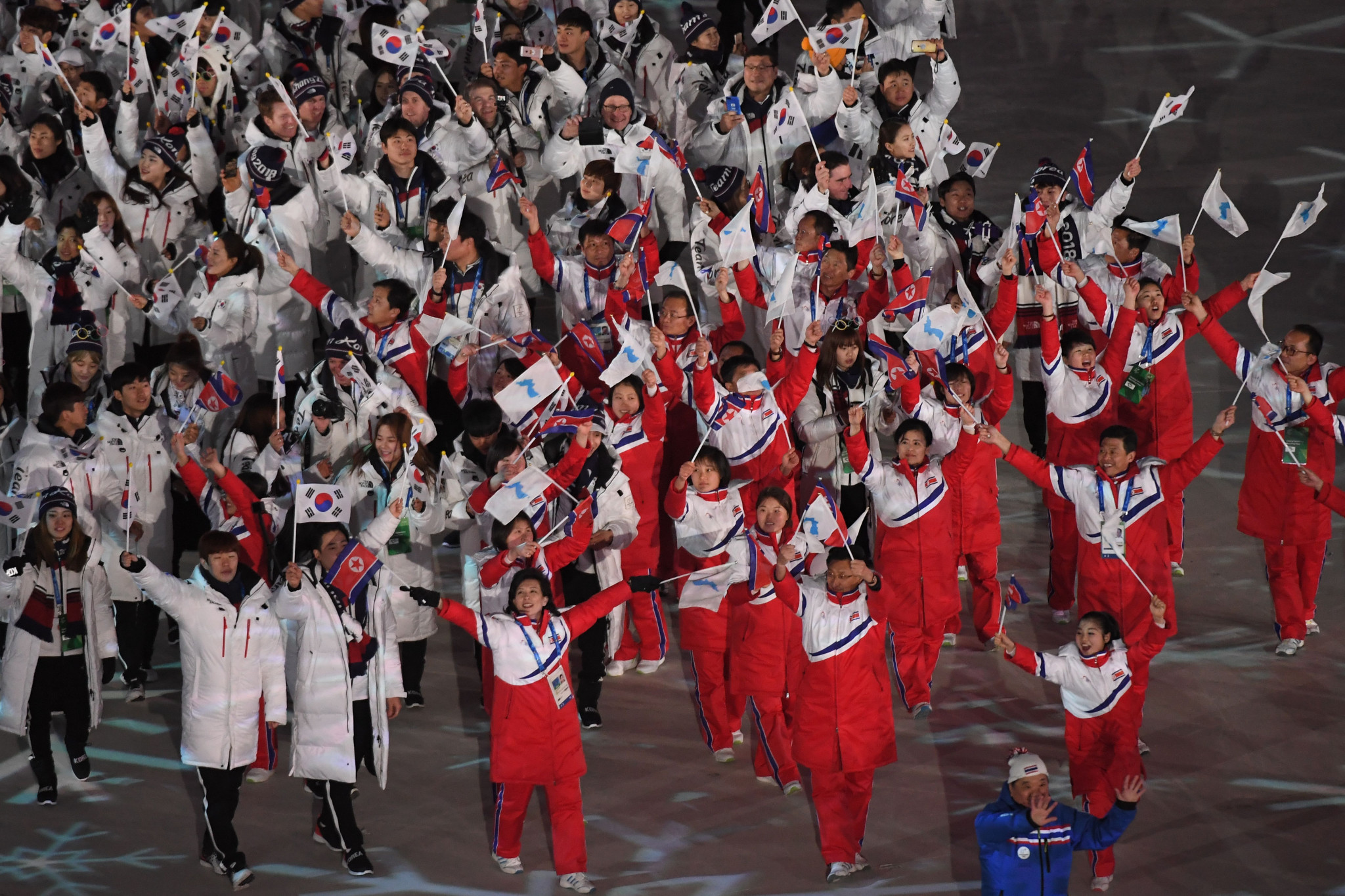 Discussions over a 2032 Korean bid and unified teams at Tokyo 2020 took place in Lausanne ©Getty Images