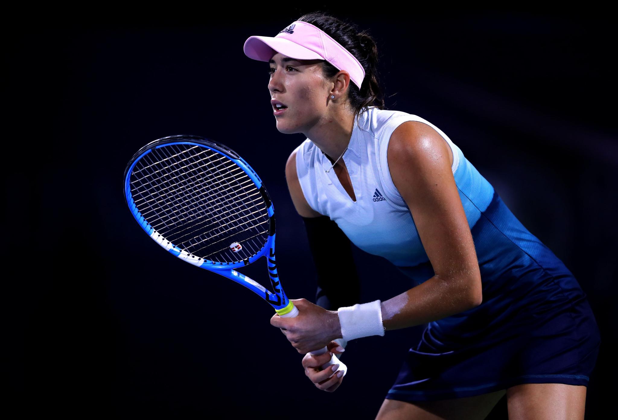 Dubai Tennis Championships begins with victory for Muguruza