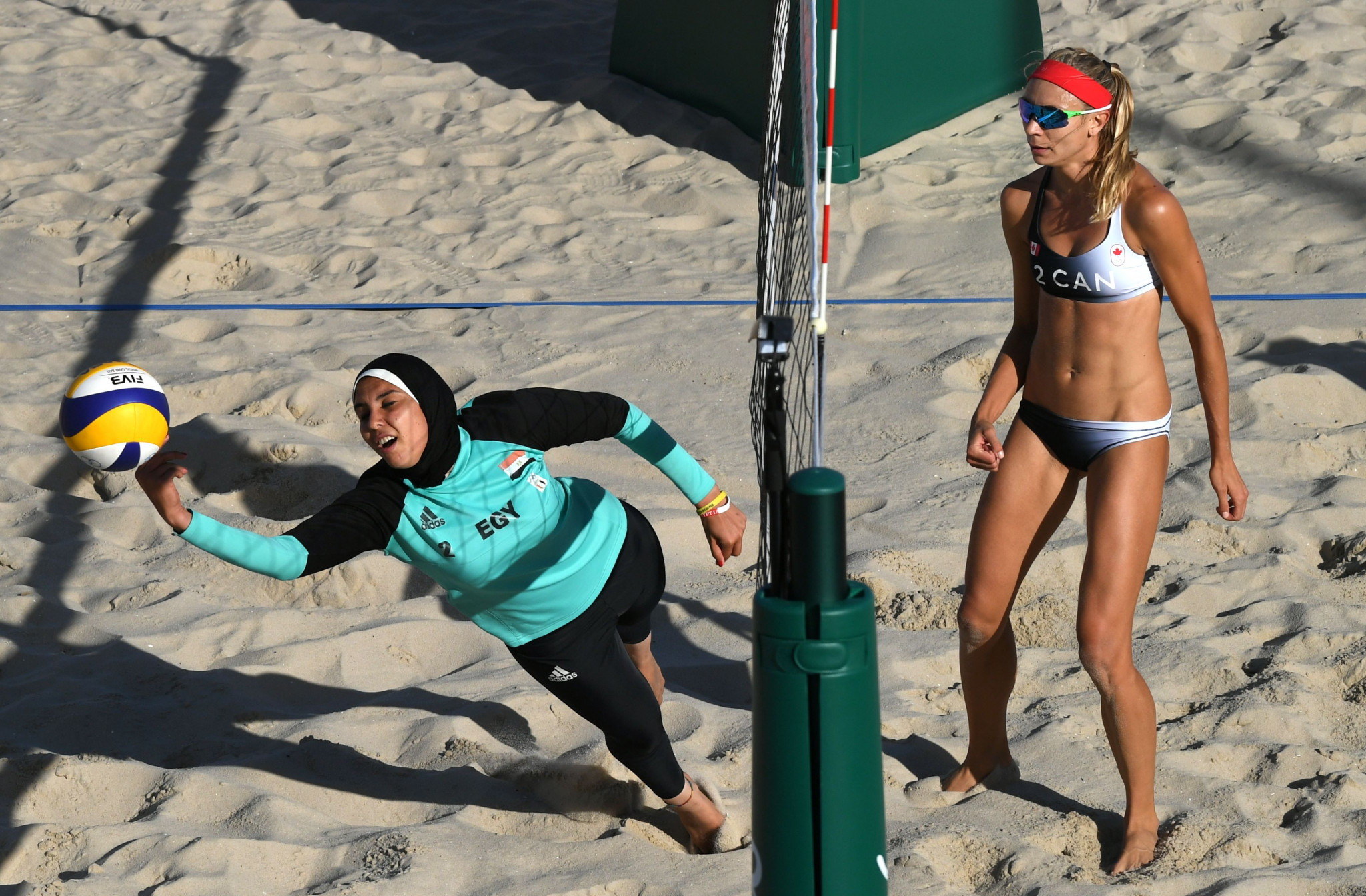 Several sports have introduced rules to allow Muslim athletes to wear the hijab in competitions ©Getty Images