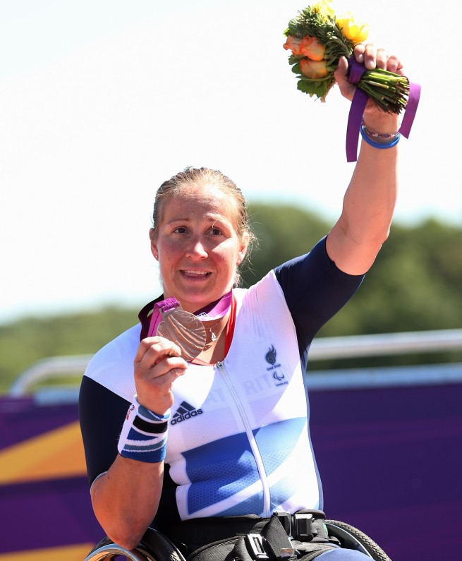 British double Paralympic gold medallist shows versatility by reaching World Championships in new sport
