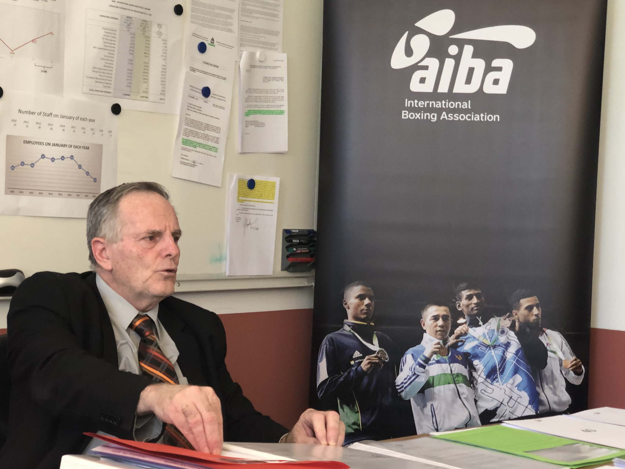 AIBA executive director Tom Virgets has called upon the IOC to be honest about whether their problems with the organisation is solely down to the election of Gafur Rakhimov as President ©ITG